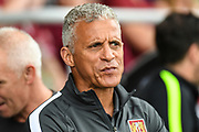 Northampton Town manager Keith Curle during the Pre-Season Friendly match between Northampton Town and Sheffield United at the PTS Academy Stadium, Northampton, England on 20 July 2019.