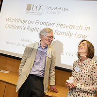 "FREE IMAGE- NO REPRO FEE. The School of Law, University College Cork recently hosted a two day Workshop on Frontier Research in Children's Rights and Family Law. The Keynote Address was by Professor John Eekelaar: ""Family Law and Identity"" and was followed by formal launch of CCRFL. Photo By Tomas Tyner, UCC."