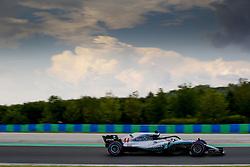 July 27, 2018 - Budapest, Hungary - Motorsports: FIA Formula One World Championship 2018, Grand Prix of Hungary, .#44 Lewis Hamilton (GBR, Mercedes AMG Petronas Motorsport) (Credit Image: © Hoch Zwei via ZUMA Wire)