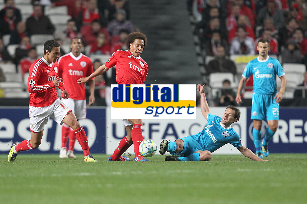 20120306: LISBON, PORTUGAL - Champions League 2011/2012 - 2st leg: SL Benfica vs Zenit FC.<br />