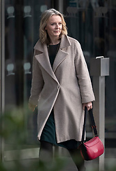 © Licensed to London News Pictures. 10/12/2018. London, UK. Treasury Secretary Liz Truss leaves a Conservative Friends of Israel event in central London. Prime Minister Theresa May is expected to call off tomorrows withdrawal agreement vote when she speaks in the House of Commons later. Photo credit: Peter Macdiarmid/LNP