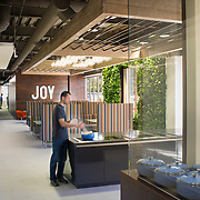 The Pirch corporate offices have a distinctly non-corporate look and feel - they're playful, positive and they have the best company coffee cart in the world.