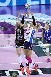 01-05-2017 ITA: Liu Jo Volley Modena - Igor Gorgonzola Novara, Modena<br /> Final playoff match 1 of 5 / Laura Dijkema #14<br /> <br /> ***NETHERLANDS ONLY***