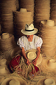 Ecuador, the best panama hats of the world