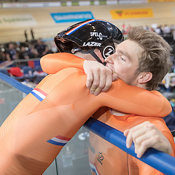 28-02-2018: Wielrennen: WK Baan: Apeldoorn<br />Mathijs Buchli