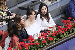 May 14, 2018 - Madrid, Spain - Tamara Falcó and  Alessandra de Osma  during day 9 of the Mutua Madrid Open tennis tournament at the Caja Magica in Madrid, Spain. on May 12, 2018 in Madrid, Spain  (Credit Image: © Oscar Gonzalez/NurPhoto via ZUMA Press)