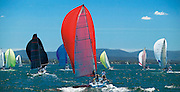 Saturday Yacht Racing on Lake Macquarie, Australia