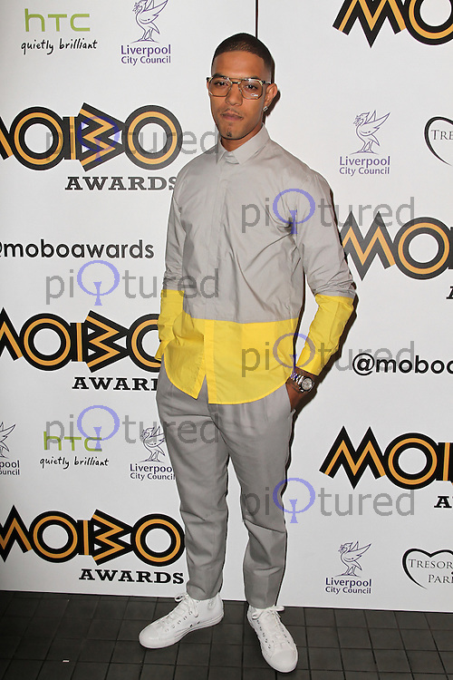 LONDON - SEPTEMBER 17: Fazer attended the Nominations Launch of the MOBO Awards at Floridita London, UK. September 17, 2012. (Photo by Richard Goldschmidt)
