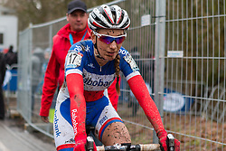 Pauline Ferrand Prevot (FRA), Women, Cyclo-cross World Cup Hoogerheide, The Netherlands, 25 January 2015, Photo by Pim Nijland / PelotonPhotos.com