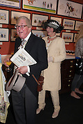 MR. DERWENT MAY; MRS. DERWENT MAY, Elliott and Thompson host a book launch of How the Queen can Make you Happy by Mary Killen.- Book launch. The O' Shea Gallery. St. James's St. London. 20 June 2012.