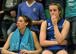 12-04-2014 NED: Finale vv Alterno - Sliedrecht Sport, Apeldoorn<br /> Alterno pakt het kampioenschap door Sliedrecht voor de derde maal te verslaan / Rianne Lantinga, Ester Hullegie