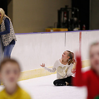Thomas Wells | BUY at PHOTOS.DJOURNAL.COM<br /> Kim Sanders of New Albany and her daughter, Sydney, 11, have a good lugh at each other expense after falling and learning how to get up.