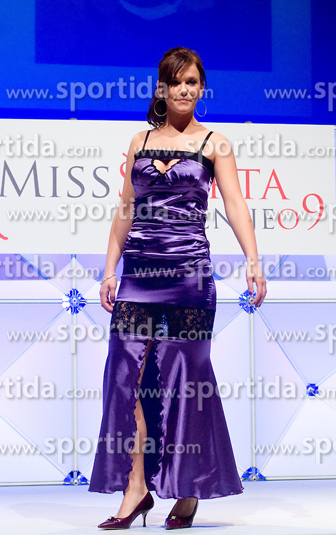 Ines Trubacev at event Miss Sports of Slovenia, on April 18, 2009, in Festivalna dvorana, Ljubljana, Slovenia. (Photo by Ales Oblak / Sportida)