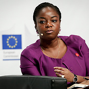 20160615 - Brussels , Belgium - 2016 June 15th - European Development Days - Digital technologies contribution to the Sustainable Development Goals - Cina Lawson , Minister for Post and Digital Economy , Government of Togo © European Union