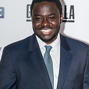 London,England,UK. 6th April, 2017. Babou Ceesay attends the UK premiere of Sky Original Production Guerrilla at The Curzon,Bloomsbury,London,UK. by See Li