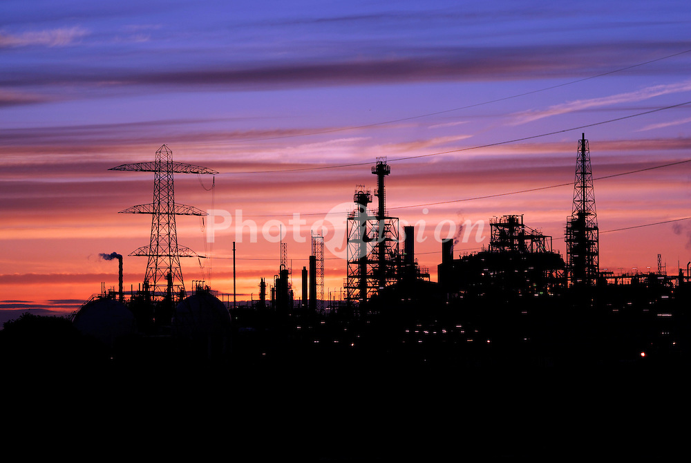 Ineos Chemical Complex on the banks of the River Mersey; River Weaver and Manchester Ship Canal in Runcorn; formerly ICI works of Rocksavage and Castner-Kelner Works which produced fluorcarbons such as aerosol propellants; dry cleaning solvents and chlorine,