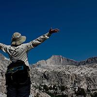 High in the Sierra Nevada of California