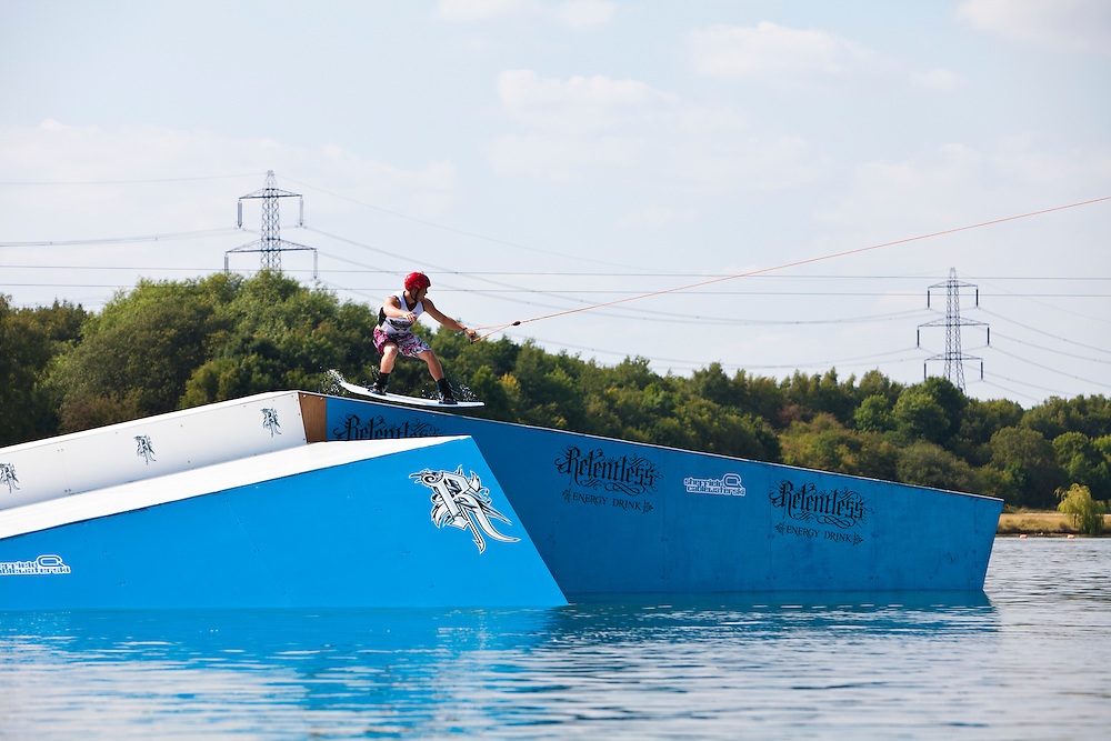 Relentless Uk Pro Wakeboard tour stop 1 Sheffield cable