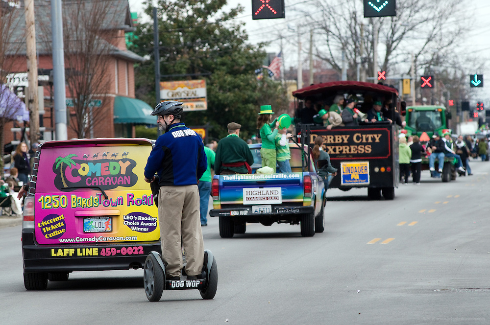 Photos from the 37th annual Ancient Order of Hibernians St. Patrick's Parade Saturday, March 13, 2010, from Broadway on Baxter Avenue south along Bardstown Road to the Mid-City Mall in Louisville, Ky. (Photo by Brian Bohannon)