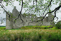 Kilchurn Castle at the head of Loch Awe Scotland