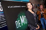AMSTERDAM - In het ketelhuis is de perspresentatie gehouden van het nieuwe seizoen 'Wie Is De Mol 2014'. Met hier op de foto  Susan Visser. FOTO LEVIN DEN BOER - PERSFOTO.NU
