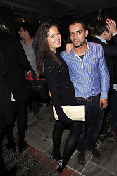 ALEXANDRA FELSTEAD and JACK CAMILLE at the launch party for the new nightclub Public at 533 Kings Road, London on 2nd December 2010.