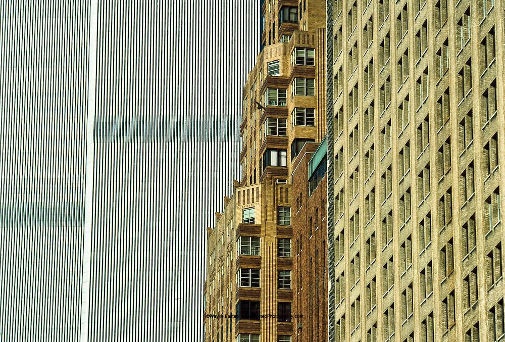 World Trade Center view from Battery Park, NY, NY
