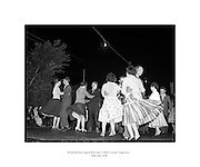 Roadside dancing at Kilcoran, Cahir, Co. Tipperary .10/07/1958.