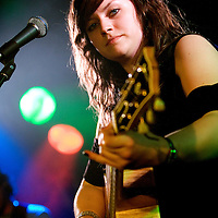 Amy MacDonald plays live at King Tut's Wah Wah Hut.
