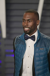 February 24, 2019 - Beverly Hills, California, U.S - DeRay Mckesson on the red carpet of the 2019 Vanity Fair Oscar Party held at the  Wallis Annenberg Center in Beverly Hills, California on Sunday February 24, 2019.  JAVIER ROJAS/PI (Credit Image: © Prensa Internacional via ZUMA Wire)
