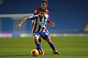 Brighton & Hove Albion defender Robert Hunt (42) during the EFL Trophy Southern Group G match between U23 Brighton and Hove Albion and Leyton Orient at the American Express Community Stadium, Brighton and Hove, England on 8 November 2016.
