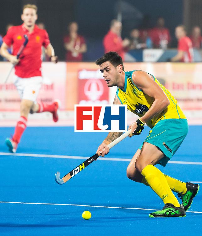 BHUBANESWAR - The Odisha Men's Hockey World League Final . Match ID 09 .  Australia v England  .Blake Govers (Aus)    WORLDSPORTPICS COPYRIGHT  KOEN SUYK