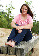 Emily Howard's Senior Pics, 23 Apr 2011, Mariners Museum Trail, Newport News VA