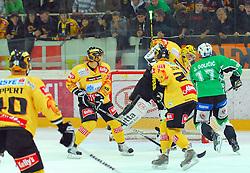 Juric Golicic of Olimpija at ice hockey match of 8th Round of EBEL League between Vienna Capitals and HDD Tilia Olimpija,  on October 2, 2009, Arena Alberta Schultza, Wien, Austria. Vienna won 4:1.  (Photo by Marko Kovic / Sportida)