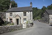 Milldale village, Peak District national park, England