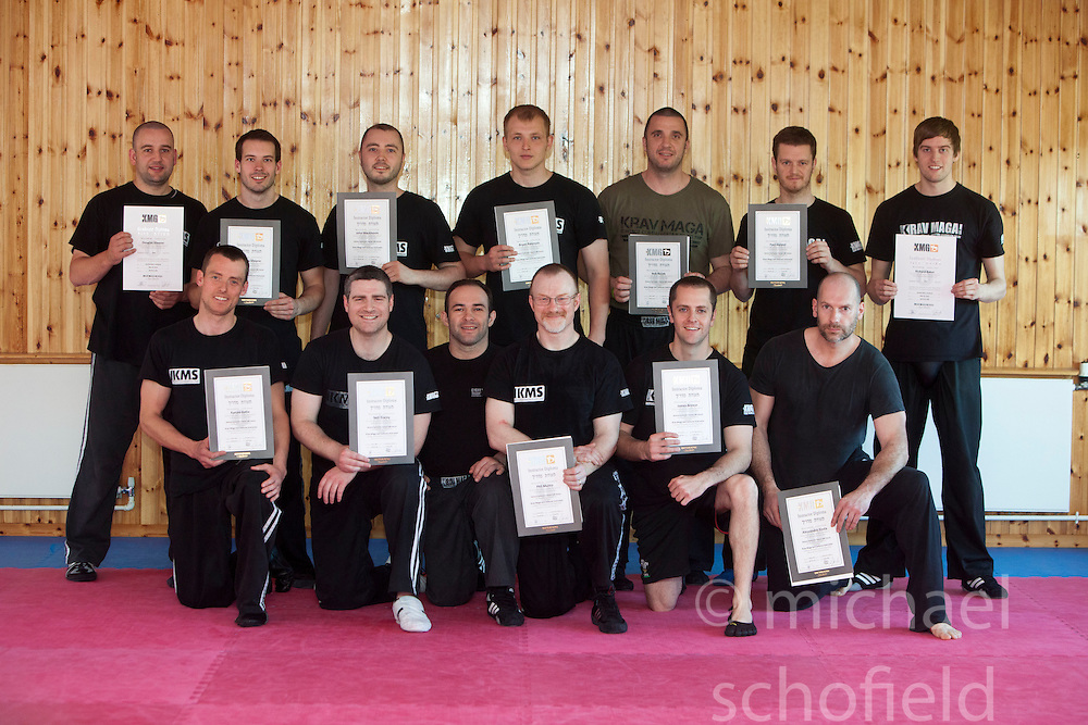 The new Krav Maga Maga Global's General Instructors Course (GIC) finishes at the KSDA Martial Arts Studio in Dunfermline..©Michael Schofield..