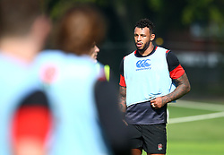 Courtney Lawes of England during the training Camp at St Edwards College in Oxford - Mandatory by-line: Robbie Stephenson/JMP - 26/09/2017 - RUGBY - England - England rugby training session