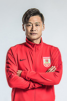 **EXCLUSIVE**Portrait of Chinese soccer player Du Zhenyu of Changchun Yatai F.C. for the 2018 Chinese Football Association Super League, in Wuhan city, central China's Hubei province, 22 February 2018.
