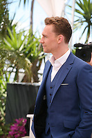 Actor Tom Hiddleston.at Only Lovers Left Alive Photocall Cannes Film Festival On Saturday 26th May May 2013