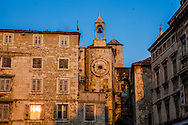 Split, Croatia clocktower