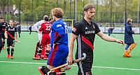 BLOEMENDAAL -  Teleurstelling bij Mirco Pruyser (Adam) na  Hoofdklasse hockey Bloemendaal-Amsterdam (4-2) . COPYRIGHT KOEN SUYK