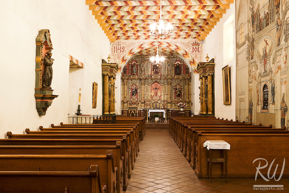 Mission Dolores (San Francisco de Asis) Chapel, San Francisco, California
