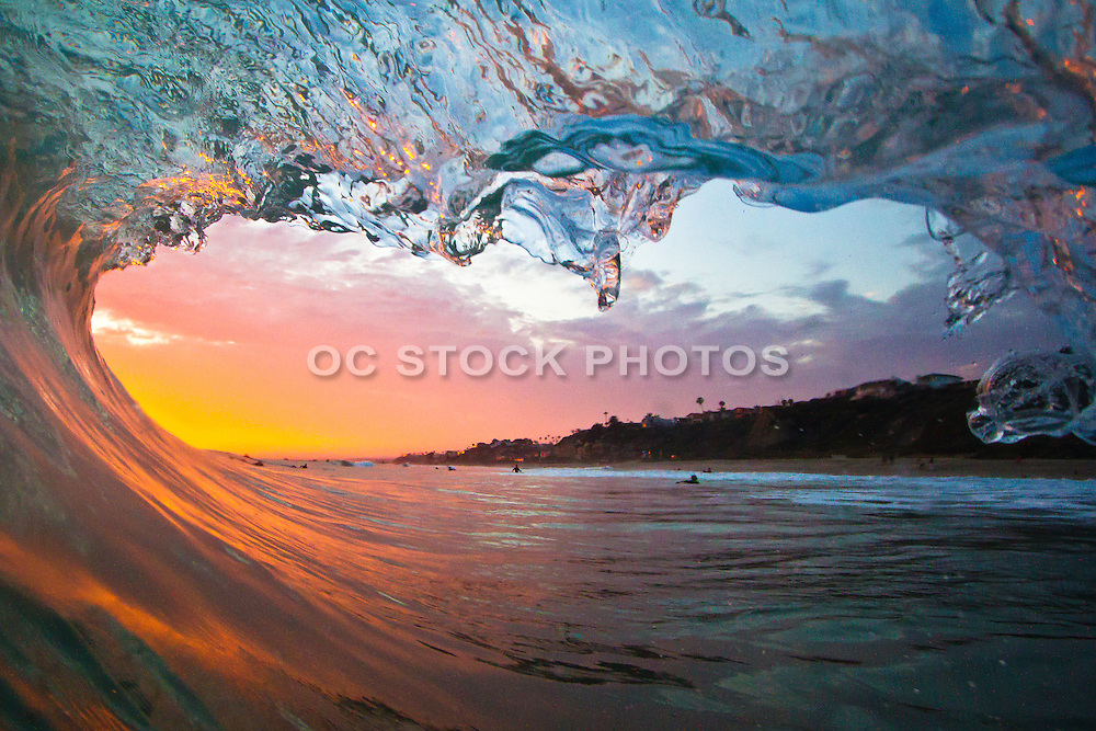 Sunset Waves in San Clemente
