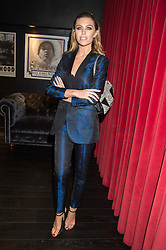 ABBEY CLANCY at the Al Films and Warner Music Screening of Kill Your Friends held at the Curzon Soho Cinema, 99 Shaftesbury Avenue, London on 27th October 2015.
