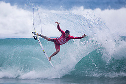 Aug 1, 2017 - Huntington Beach, California, U.S. - FELIPE TOLEDO completes a frontside air to advance to Round Three of the US Open after winning Heat 12 of Round Two at Huntington Beach. (Credit Image: © Kenneth Morris/WSL via ZUMA Wire/ZUMAPRESS.com)