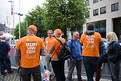 Ellen van Dijk fans at UCI Road World Championships Elite Women's Individual Time Trial 2017 a 21.1 km time trial in Bergen, Norway on September 19, 2017. (Photo by Sean Robinson/Velofocus)
