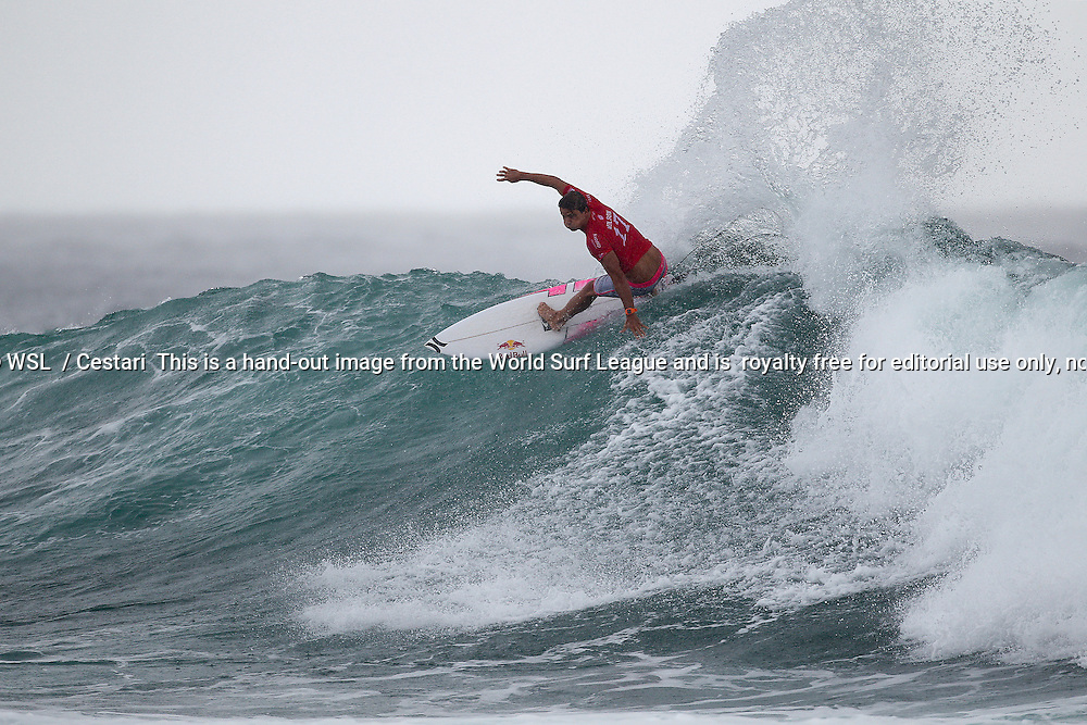 Julian Wilson of Australia (pictured) surfs during Round 2 of the Quiksilver Pro Gold Coast where he was eliminated on Sunday March 13, 2016. PHOTO CREDIT : © WSL/ Cestari SOCIAL MEDIA: @kc80 @wsl This is a hand-out image from the World Surf League and is royalty free for editorial use only, no commercial rights granted. The copyright is owned by World Surf League. Sale or license of the images is prohibited. ALL RIGHTS RESERVED.