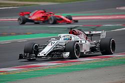 February 26, 2018 - Barcelona, Catalonia, Spain - the Alfa Romeo Sauber of Marcus Ericsson during the tests at the Barcelona-Catalunya Circuit, on 26th February 2018 in Barcelona, Spain. (Credit Image: © Joan Valls/NurPhoto via ZUMA Press)