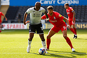 Swansea City forward André Ayew (10) during the EFL Sky Bet Championship match between Swansea City and Birmingham City at the Liberty Stadium, Swansea, Wales on 19 September 2020.