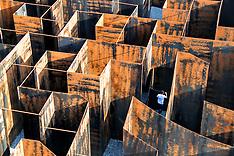 Genk: Labyrinth' Metal Maze in Belgium, 26 September 2016